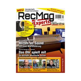 Recording Magazin RecMag Experts mit Samplitude 11 Silver Vollversion
