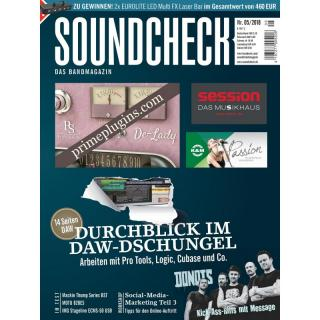 SOUNDCHECK 05 2018 Printausgabe oder PDF Download