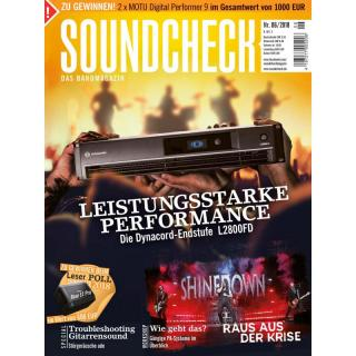 SOUNDCHECK 06 2018 Printausgabe oder PDF Download