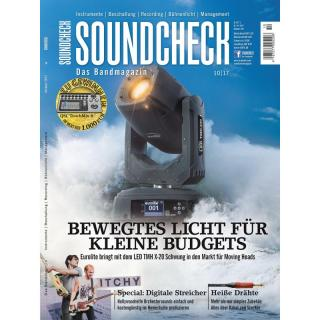 SOUNDCHECK 10 2017 Printausgabe oder PDF Download