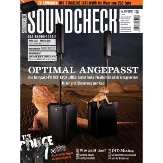 SOUNDCHECK 10 2018 Printausgabe oder PDF Download