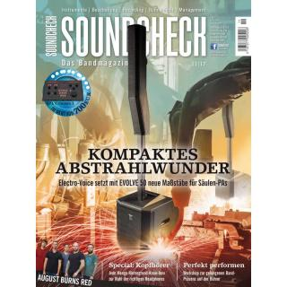 SOUNDCHECK 11 2017 Printausgabe oder PDF Download