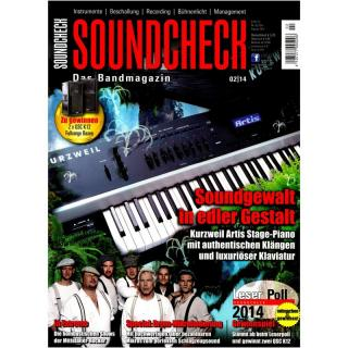 SOUNDCHECK 02 2014 Printausgabe oder PDF Download