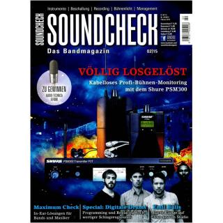 SOUNDCHECK 02 2015 Printausgabe oder PDF Download