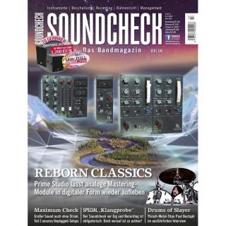 SOUNDCHECK 03 2016 Printausgabe oder PDF Download