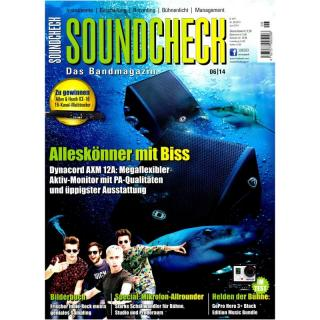SOUNDCHECK 06 2014 Printausgabe oder PDF Download