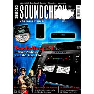 SOUNDCHECK 06 2015 Printausgabe oder PDF Download