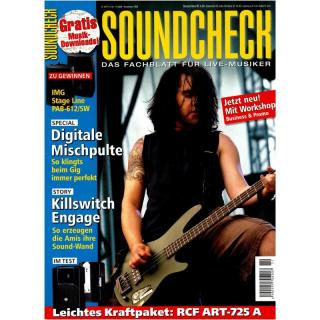 SOUNDCHECK 11 2008 Printausgabe oder PDF Download