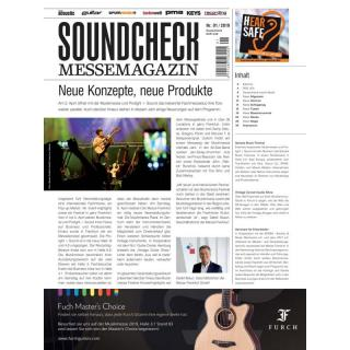 SOUNDCHECK MesseMagazin 2019