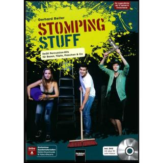 Stomping Stuff - 12 Percussion-Hits inkl. DVD