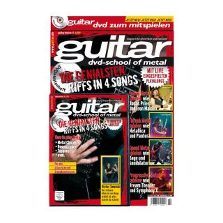 guitar Songbook mit DVD Vol. 2: School of Metal