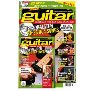 guitar Songbook mit DVD Vol. 5: School of Rock