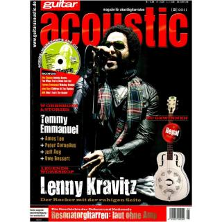 guitar acoustic 02 2011 Printausgabe oder PDF Download