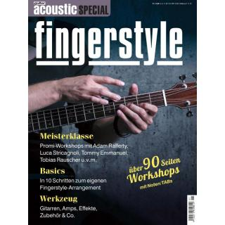 guitar acoustic Special - Fingerstyle Printausgabe oder PDF Download