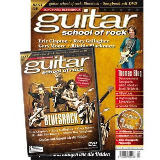 guitar school of rock Bluesrock - Songbook mit DVD