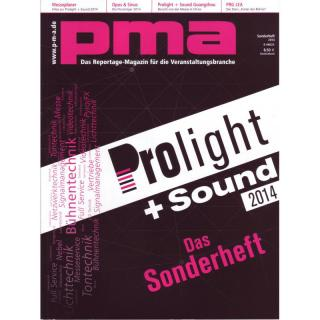 pma Sonderheft Prolight + Sound 2014