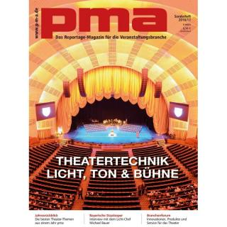 pma Sonderheft Theatertechnik 2016 / 2017 Printausgabe oder PDF Download