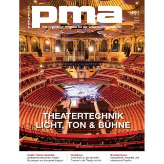 pma Sonderheft Theatertechnik 2018 / 2019 Printausgabe oder PDF Download