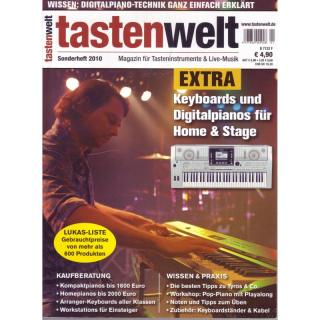tastenwelt EXTRA 2010: Keyboards und Digitalpianos für Home & Stage