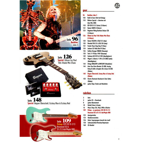 Guitar 04 2013 Printausgabe oder PDF Download