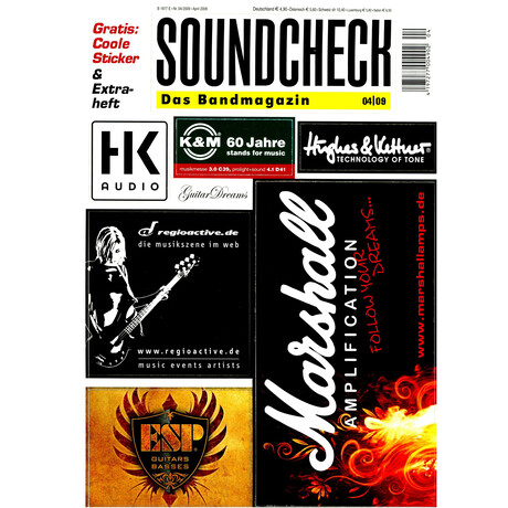 SOUNDCHECK 04 2009 Printausgabe oder PDF Download