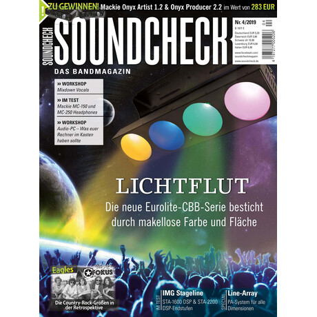 SOUNDCHECK 04 2019 Printausgabe oder PDF Download