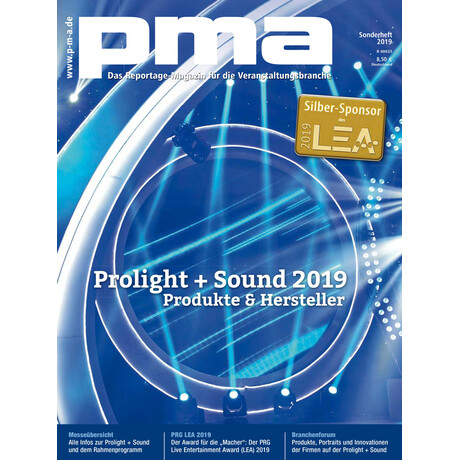 pma Sonderheft Prolight + Sound 2019 Printausgabe oder PDF Download