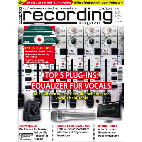 Recording Magazin 04 2019 Printausgabe oder PDF Download