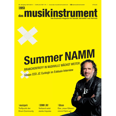 Das Musikinstrument 08 2019 Printausgabe oder PDF Download