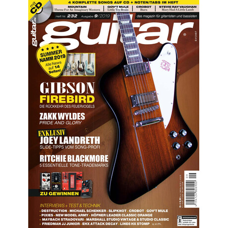 Guitar 09 2019 Printausgabe oder PDF Download