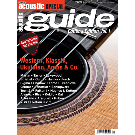 guitar acoustic Special - acoustic guide Vol. I Printausgabe oder PDF Download