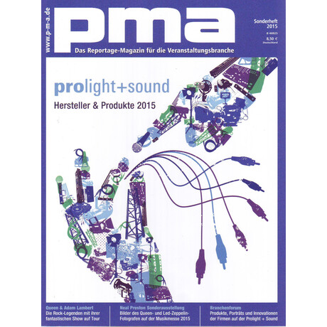 pma Sonderheft Prolight + Sound 2015