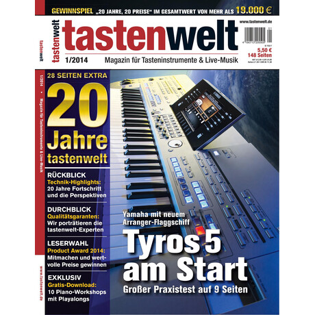 Tastenwelt 01 2014 PDF Download