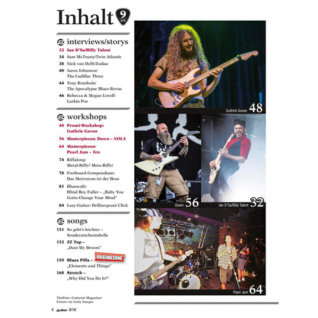 Guitar 09 2016 Printausgabe oder PDF Download