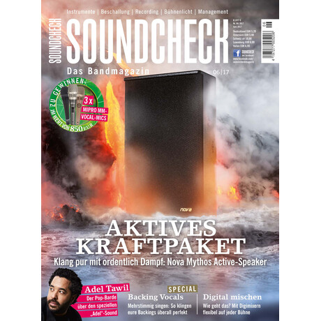 SOUNDCHECK 06 2017 Printausgabe oder PDF Download