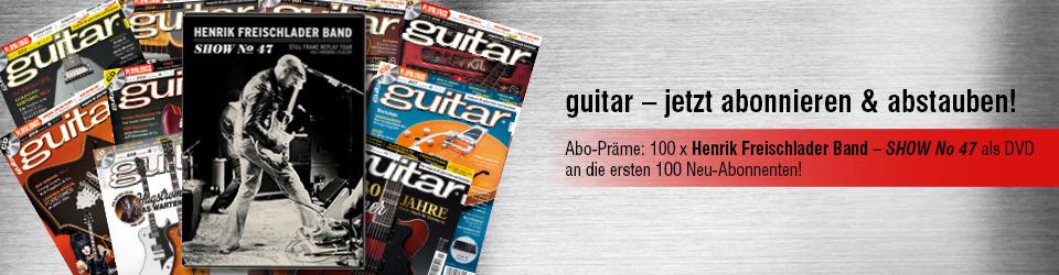 Guitar Henrik Freischlander Band