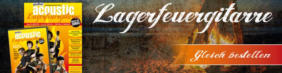Lagerfeuer-Gitarre