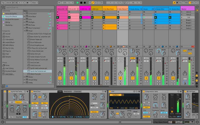 Ableton Live. Fotos: Hersteller