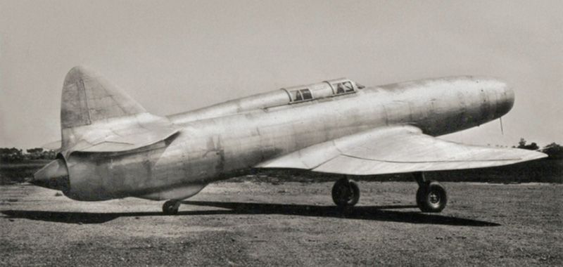 caproni campini cc2 erstes strahl-flugzeug italiens