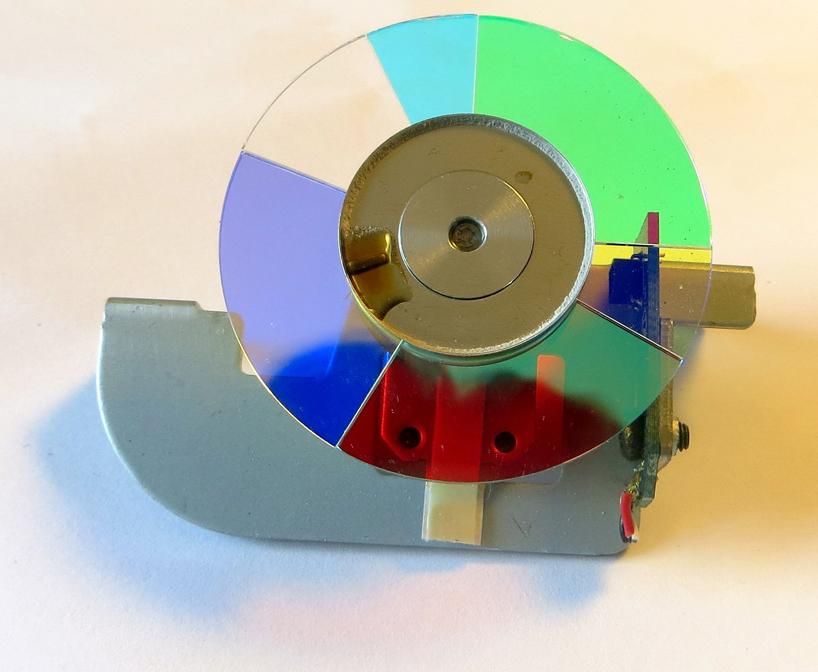 Farbrad eines DLP-Projektors
