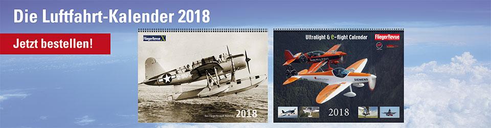 FliegerRevue Kalender 2018