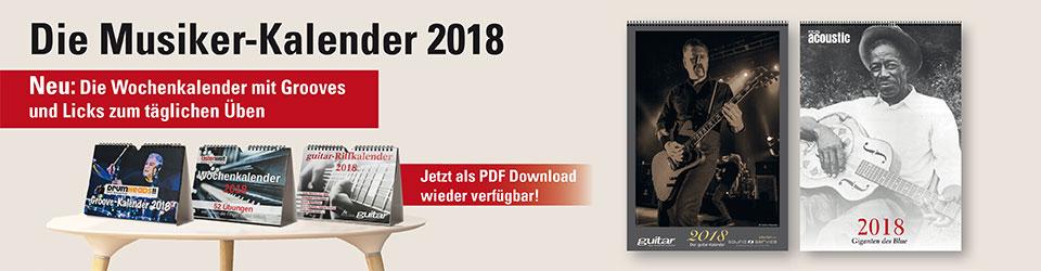 Unsere Kalender 2018