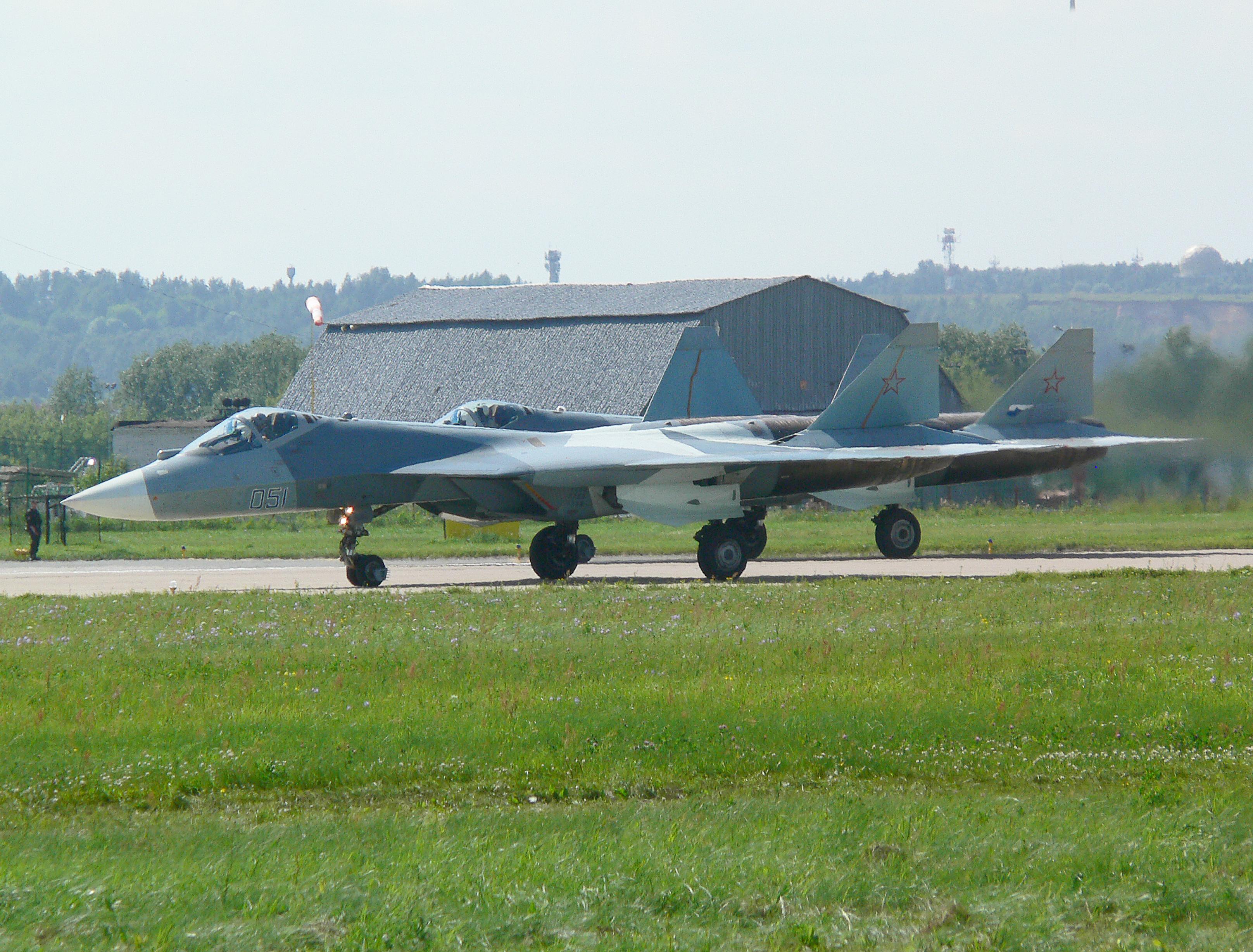 Stealth-Jagdflugzeug T-50