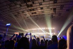 Smartphones auf einem Live-Event