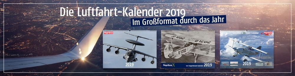 Luftfahrt Kalender 2019