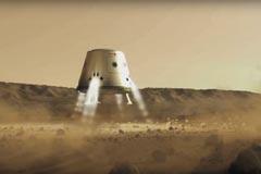 mars one landung